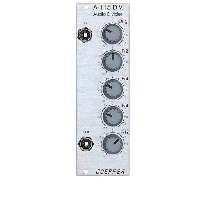 Doepfer A-115 DIV. Audio Divider サブハーモニックオシレーター 【ドイプファー】
