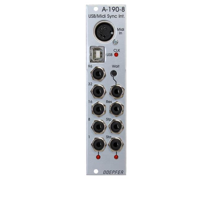 Doepfer A-190-8 USB/Midi to Sync Interface モジュール 【ドイプファー】