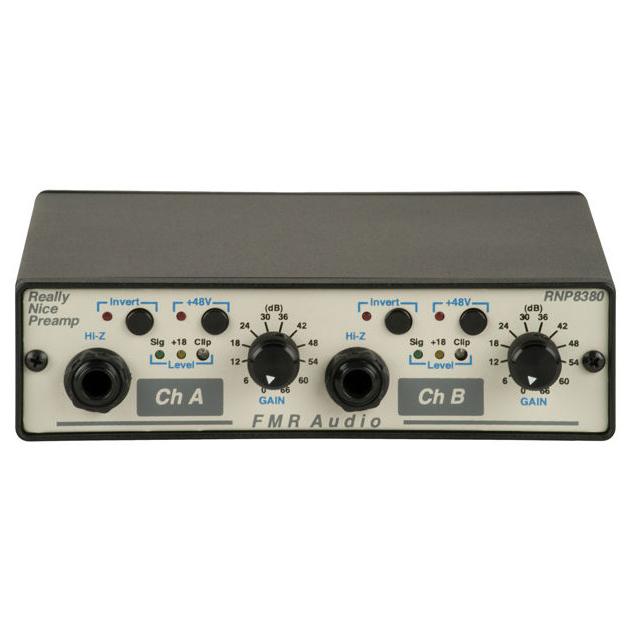 FMR Audio RNP8380 マイクプリアンプ 【FMRオーディオ】