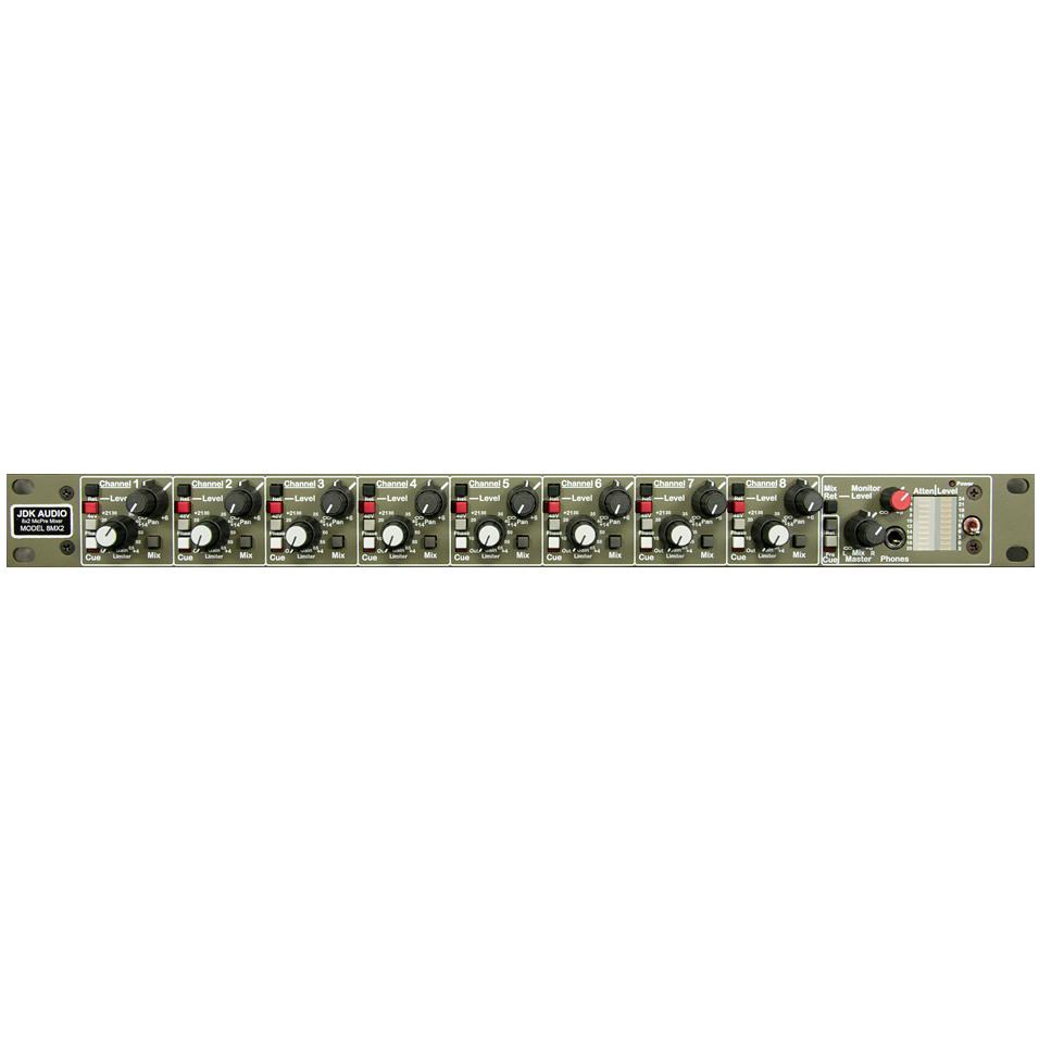 JDK Audio 8MX2 マイクプリアンプ/リミッター+ステレオミキサー 【ジェーディーケーオーディ】