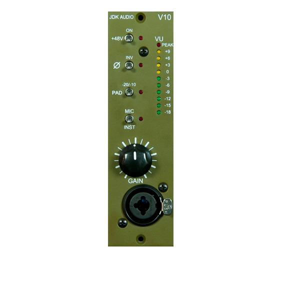 JDK Audio V10 マイクプリアンプ 【ジェーディーケーオーディ】