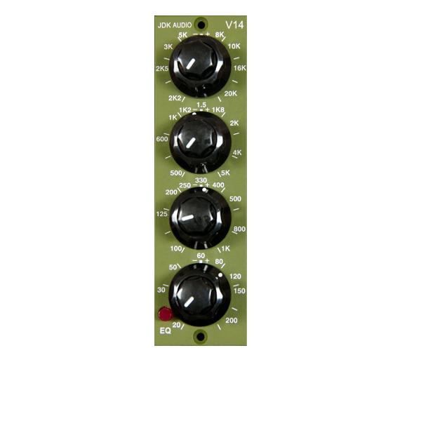 JDK Audio V14 パラメトリックイコライザー 【ジェーディーケーオーディ】