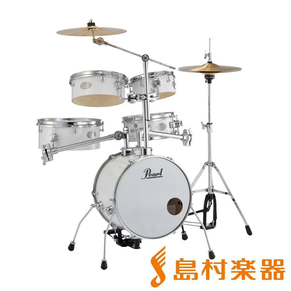 Pearl Rhythm Traveler RT-645N/C #33 ピュアホワイト ドラム セット 【リズムトラベラー Ver.3S】 【パール RT645NC】
