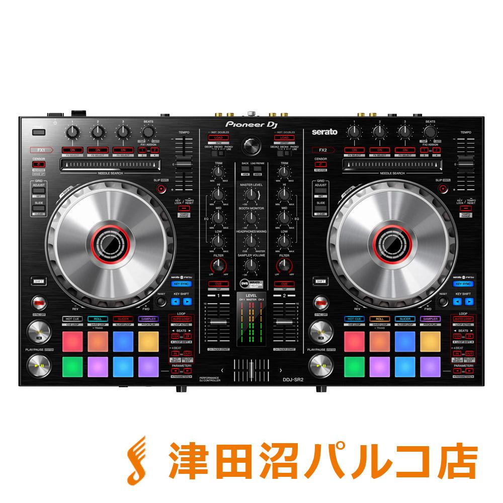 Pioneer DJ DDJ-SR2 serato DJ用 DJコントローラー 【パイオニア DDJSR2】【津田沼パルコ店】