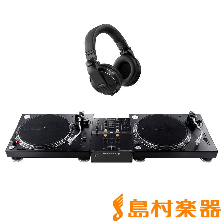 Pioneer + DJ PLX-500-K Pioneer + DJM-250MK2(ミキサー) PLX-500-K + HDJ-X5-K(ヘッドホン) アナログDJセット【パイオニア】, 阿波町:0fb28601 --- karatewkc.ru
