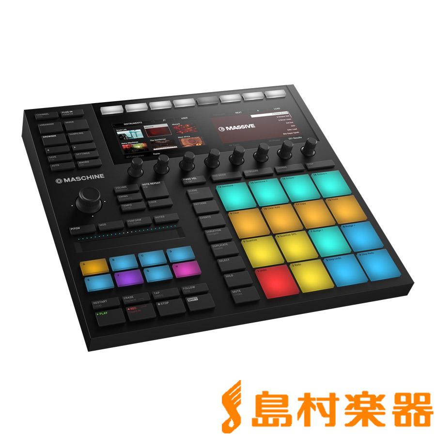 Native Instruments(NI) MASCHINE MK3 楽曲制作 パフォーマンスシステム 【ネイティブインストゥルメンツ】