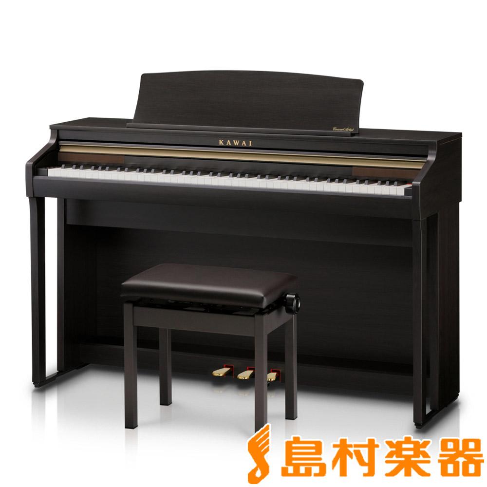 KAWAI CA48R プレミアムローズウッド調 電子ピアノ 88鍵盤 【カワイ】【配送設置無料・代引き払い不可】【別売り延長保証対応プラン:D】