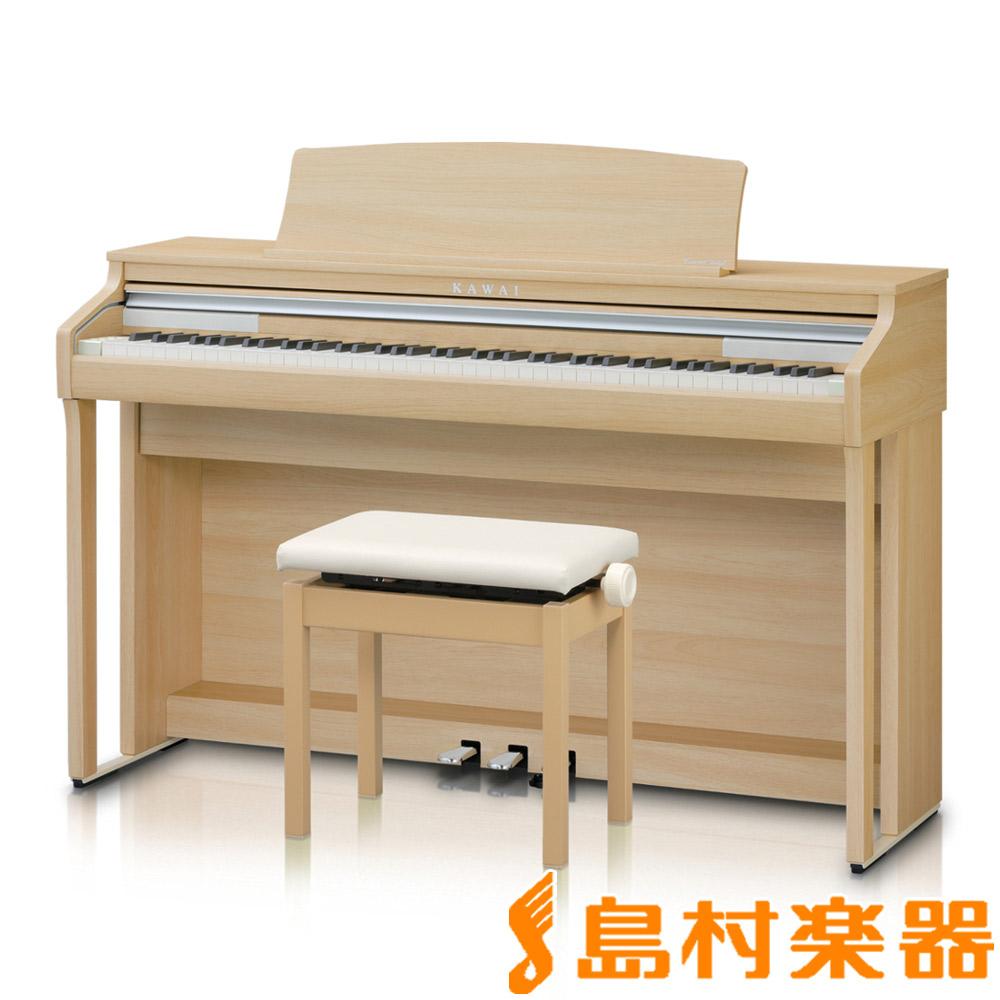 KAWAI CA48LO プレミアムライトオーク調 電子ピアノ 88鍵盤 【カワイ】【配送設置無料・代引き払い不可】【別売り延長保証対応プラン:D】