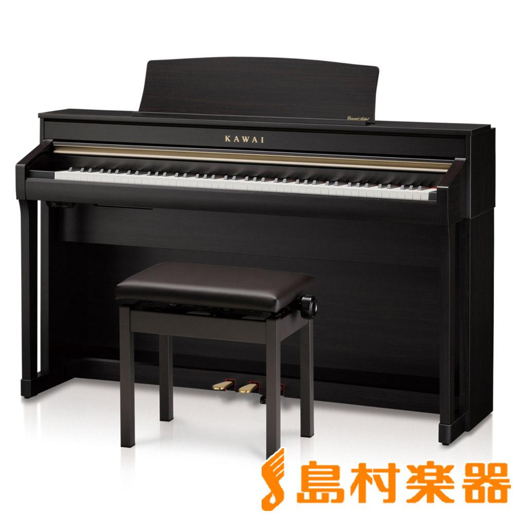 【ヘッドホン(SH-7)プレゼント】KAWAI CA78R プレミアムローズウッド調 電子ピアノ 88鍵盤 【カワイ】【配送設置無料・代引き払い不可】【別売り延長保証対応プラン:C】