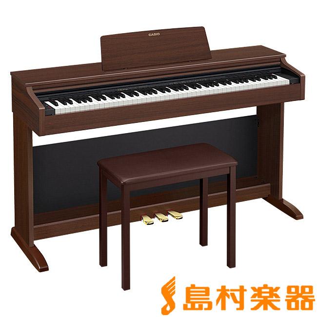 CASIO AP-270BN オークウッド調 電子ピアノ セルヴィアーノ 88鍵盤 【カシオ AP270】【配送設置無料・代引き払い不可】【別売り延長保証対応プラン:E】