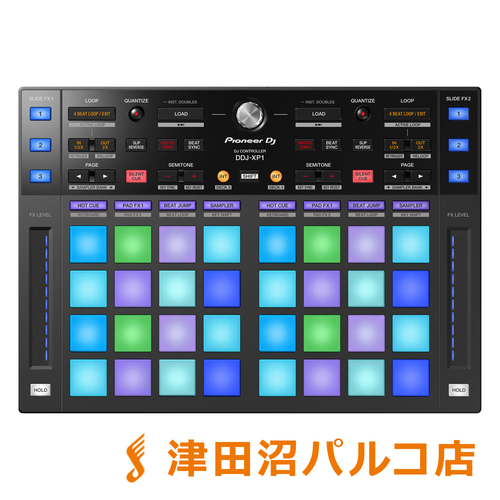 Pioneer DDJ-XP1 rekordbox 用 DJコントローラー 【パイオニア DDJXP1】【津田沼パルコ店】