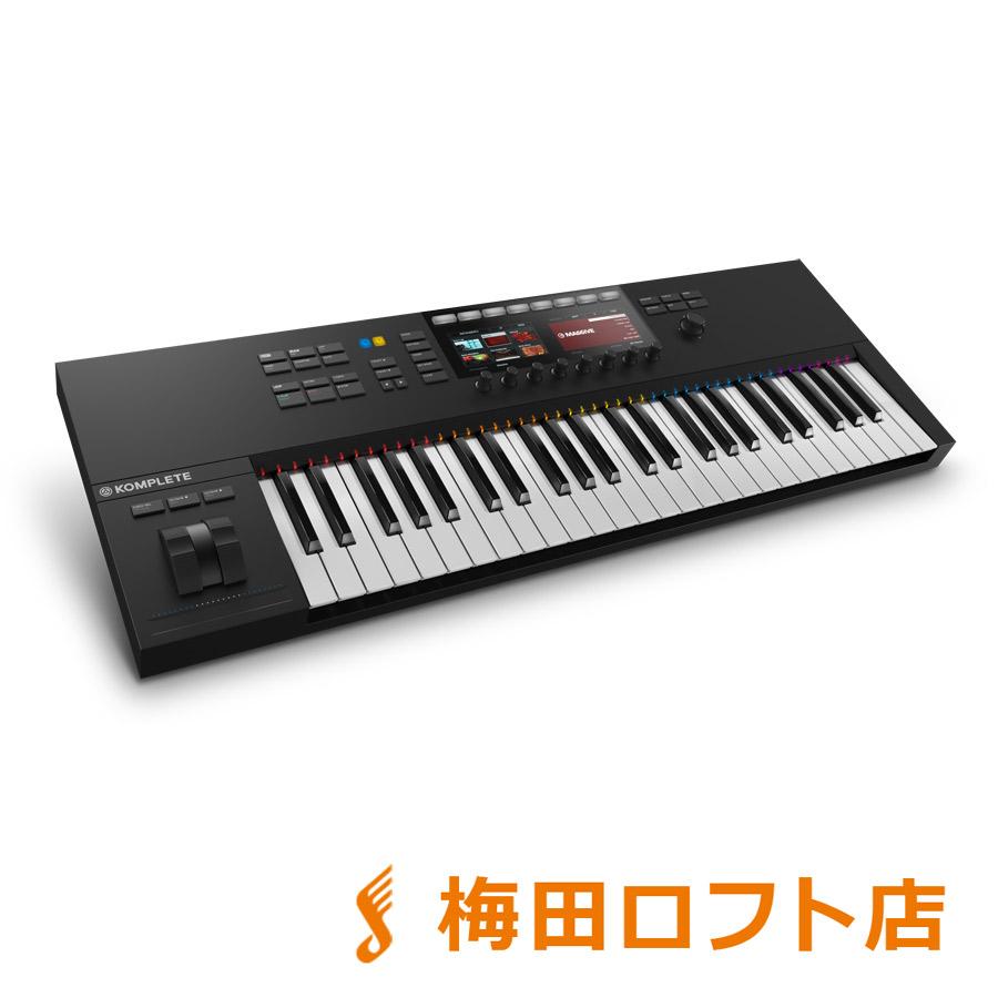 Native Instruments(NI) KOMPLETE KONTROL S49 MK2 MIDIキーボード 49鍵盤 【ネイティブインストゥルメンツ】【梅田ロフト店】