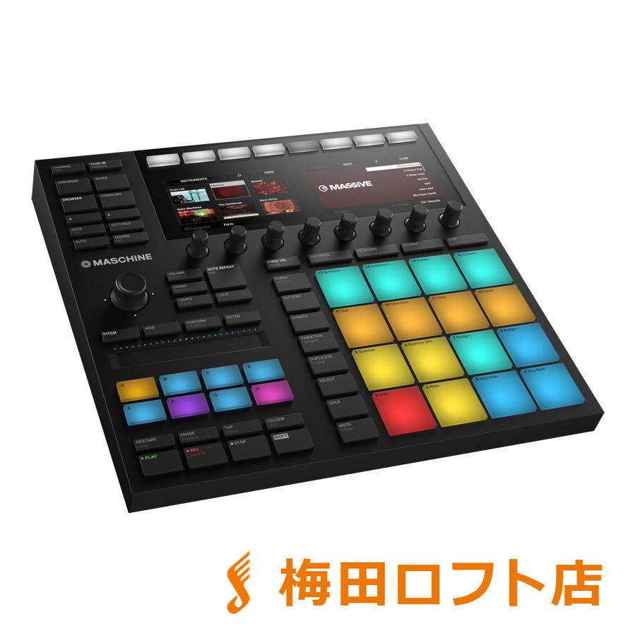 Native Instruments(NI) MASCHINE MK3 楽曲制作 パフォーマンスシステム 【ネイティブインストゥルメンツ】【梅田ロフト店】