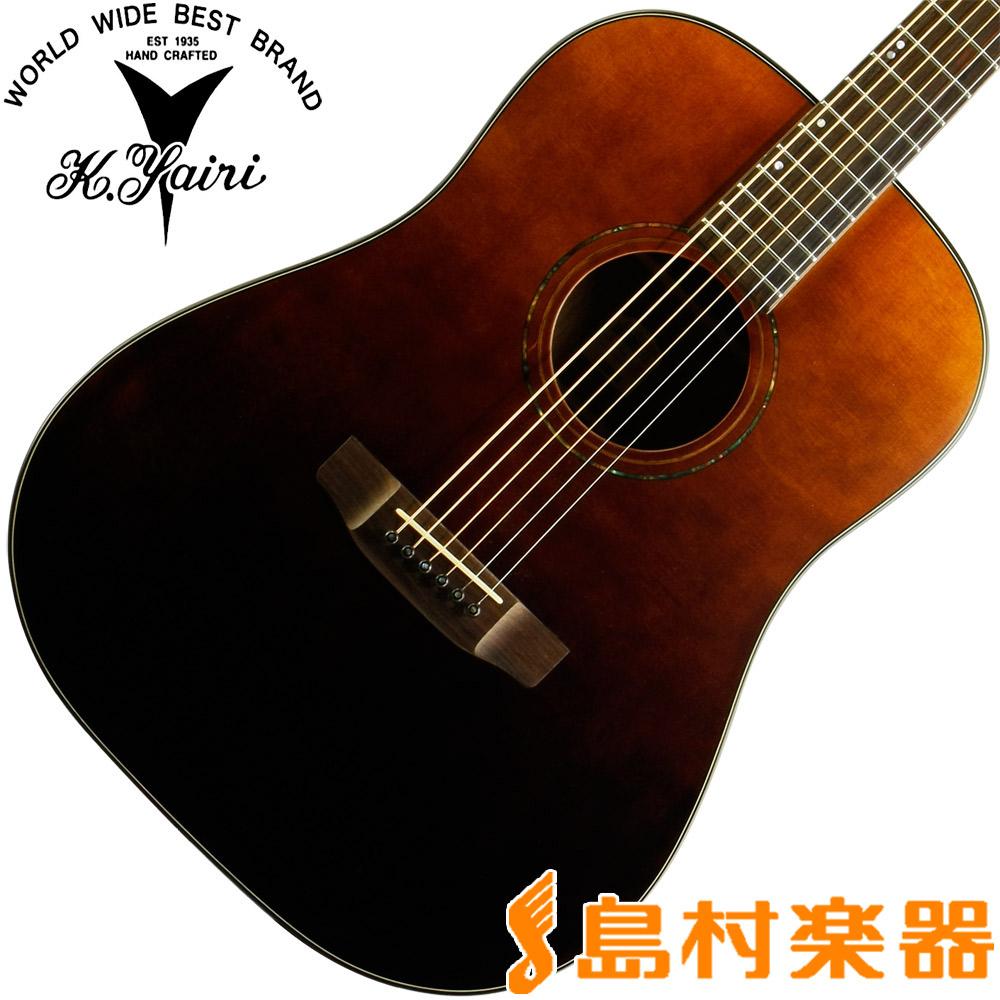 【ストラップ&ピックプレゼント中♪】 K.Yairi SL-OV2 VSB アコースティックギター エンジェルシリーズ 【アコギ / フォークギター】 【Kヤイリ】【島村楽器限定モデル】