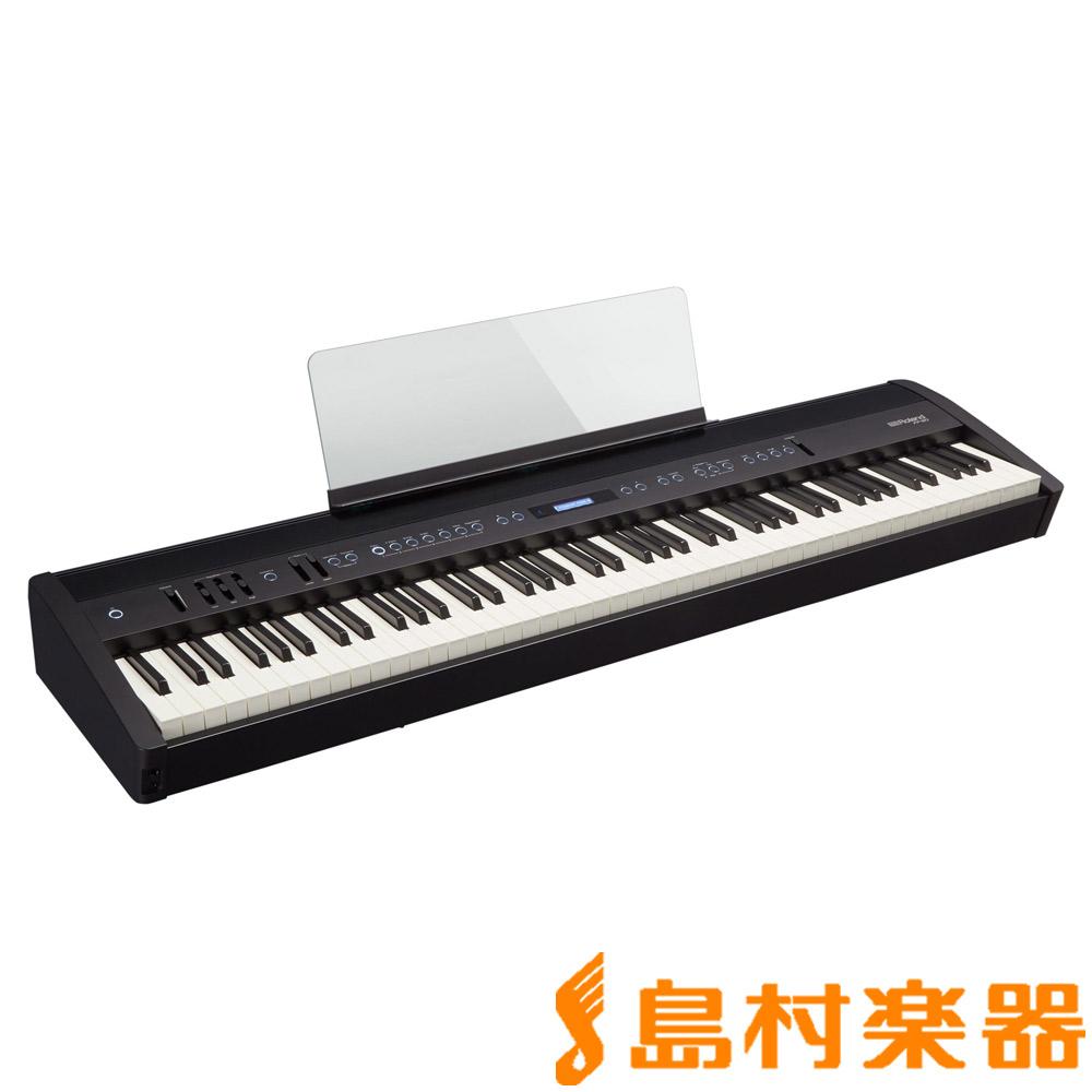 Roland FP-60 BK 電子ピアノ 88鍵盤 ポータブルピアノ 【ローランド FP60】【別売り延長保証対応プラン:D】
