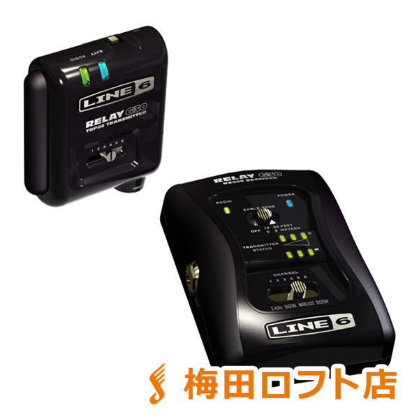 LINE6 RELAY G30 ギターワイヤレス 【梅田ロフト店】