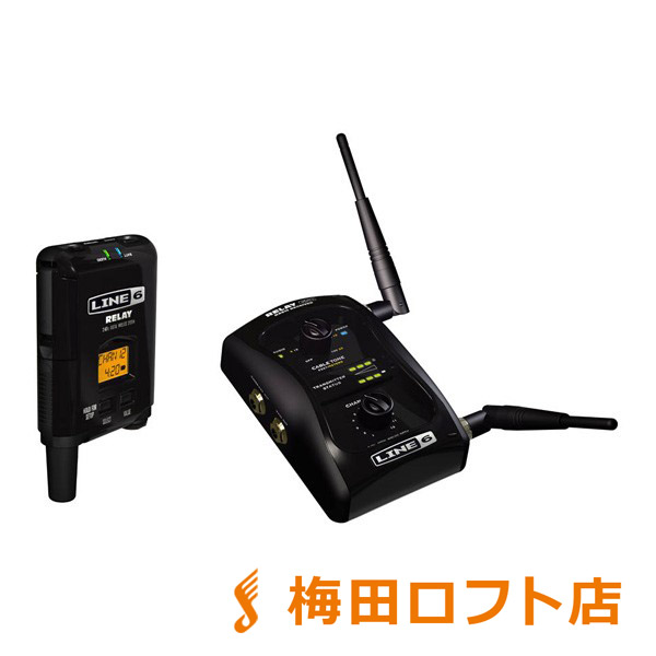 LINE6 RELAY G50 ギターワイヤレス 【梅田ロフト店】