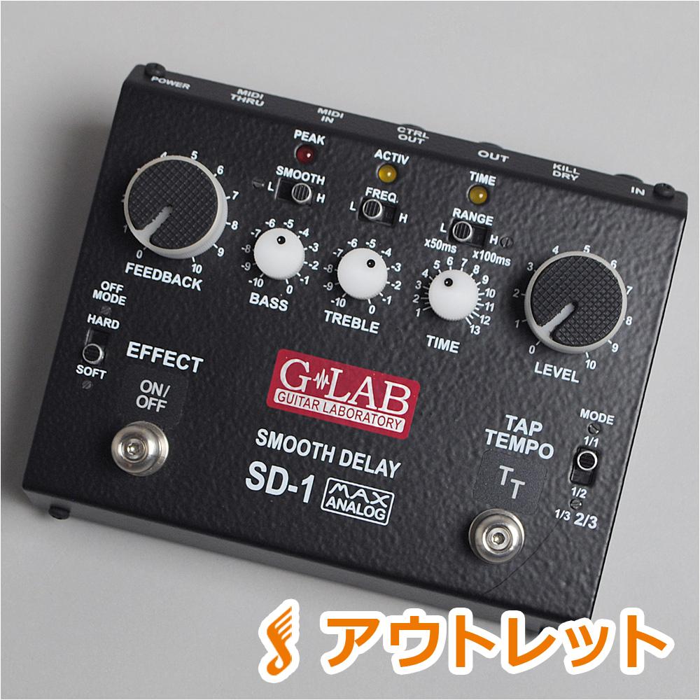 G-LAB SD-1 ディレイ 【 Smooth Delay】【ビビット南船橋店】 【アウトレット】【現品画像】