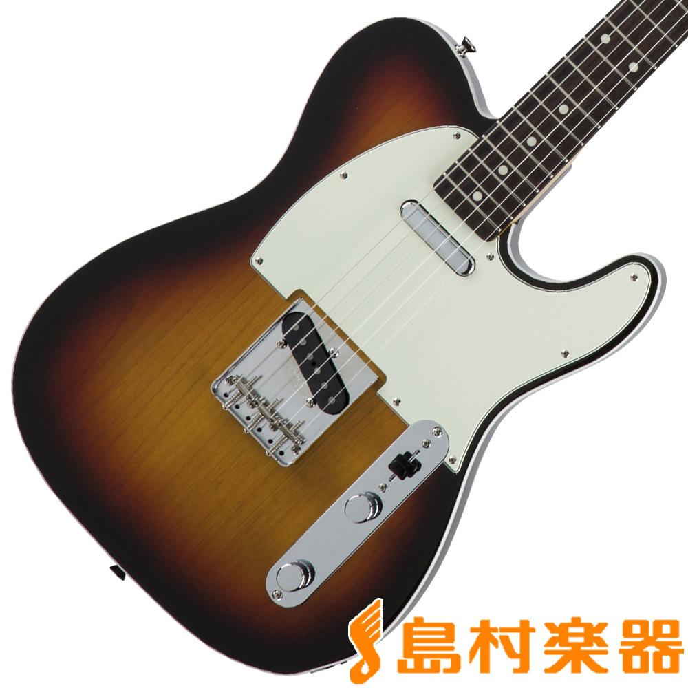 Fender Made in Japan Traditional 60s Telecaster Custom 3-Color Sunburst テレキャスター エレキギター 【フェンダー】
