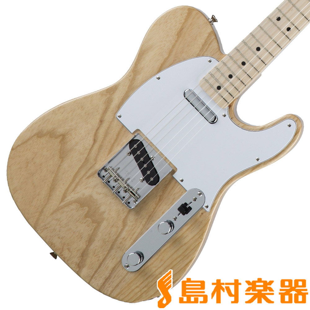 Fender Made in Japan Traditional 70s Telecaster Ash Natural テレキャスター エレキギター メイプル指板 【フェンダー】