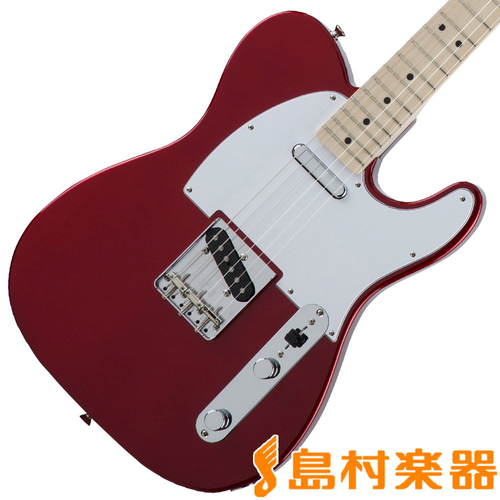 Fender Made in Japan Traditional 70s Telecaster Ash Candy Apple Red テレキャスター エレキギター メイプル指板 【フェンダー】