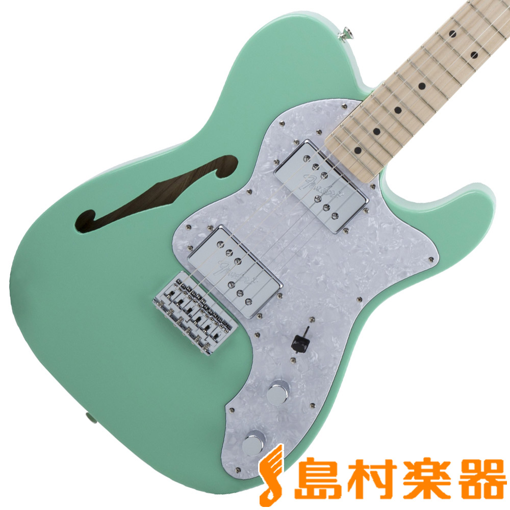 Fender Made in Japan Traditional 70s Telecaster Thinline Surf Green テレキャスター エレキギター 【フェンダー】