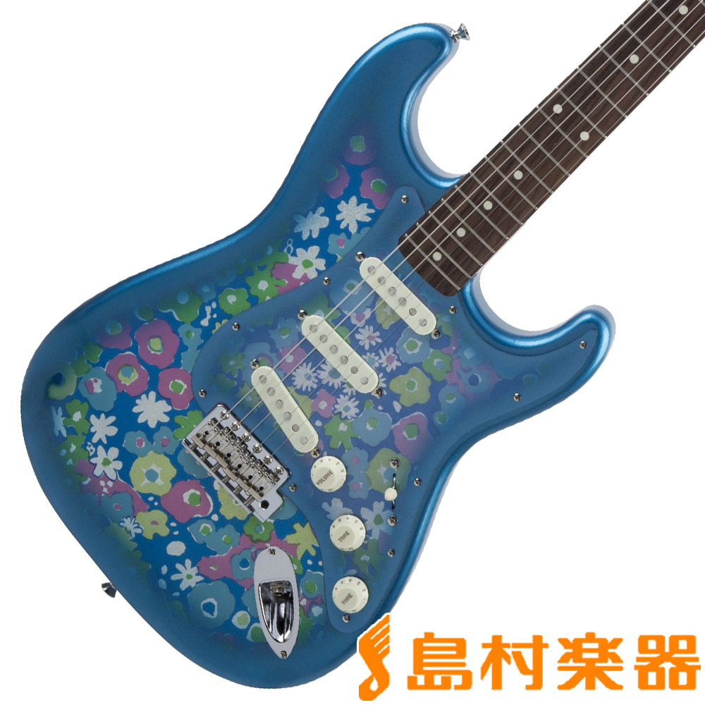 Fender Made in Japan Traditional 60s Stratocaster Blue Flower ストラトキャスター エレキギター 【フェンダー】【生産完了品】