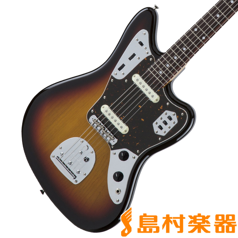 Fender Made in Japan Traditional 60s Jaguar 3-Color Sunburst エレキギター ジャガー 【フェンダー】