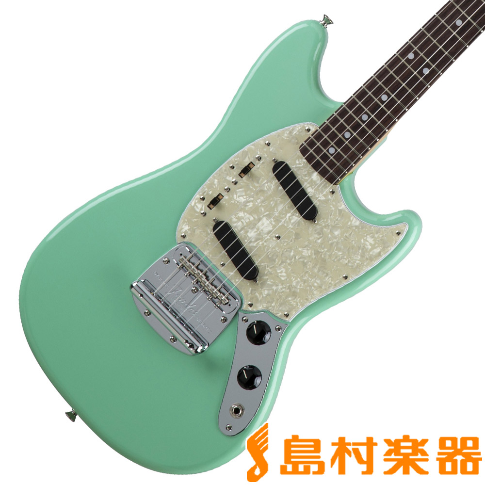 Fender Made in Japan Traditional 60s Mustang Surf Green エレキギター ムスタング 【フェンダー】