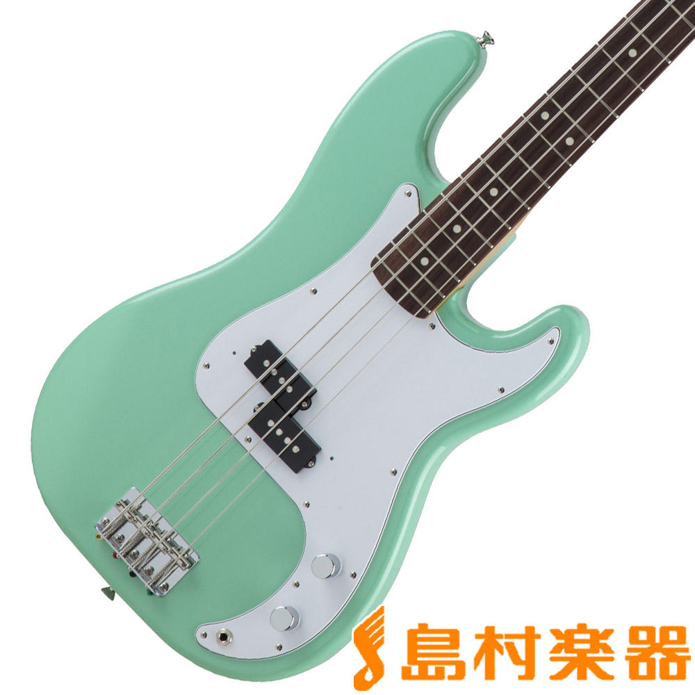 Fender Made in Japan Traditional 60s Precision Bass Surf Green プレシジョンベース 【フェンダー】