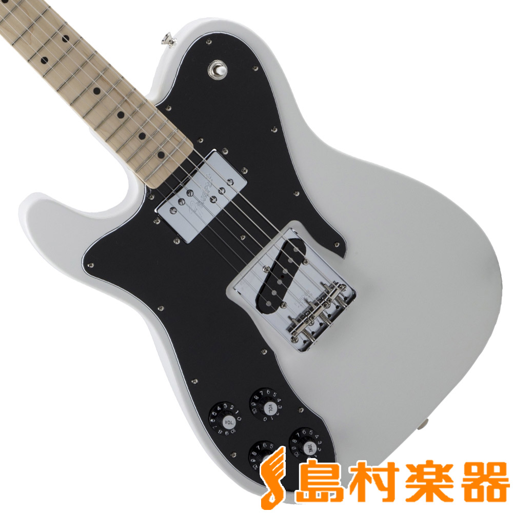 Fender Made in Japan Traditional 70s Telecaster Custom Left-Hand Arctic White テレキャスター エレキギター 左利き レフトハンド 【フェンダー】