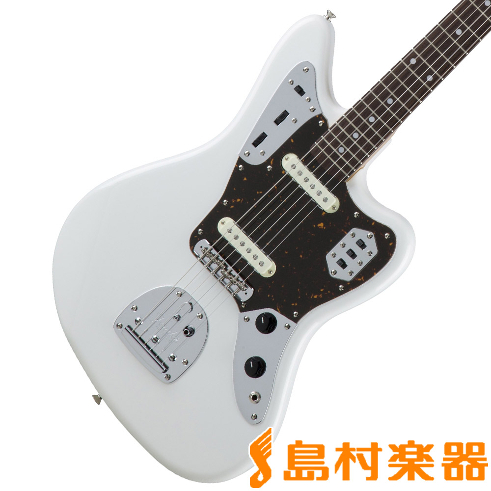 Fender Made in Japan Traditional 60s Jaguar Arctic White エレキギター ジャガー 【フェンダー】
