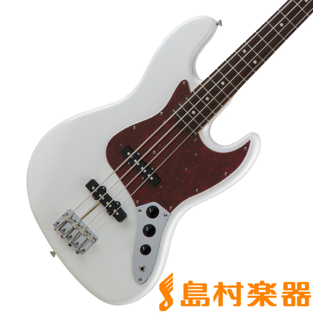 Fender Made in Japan Traditional 60s Jazz Bass Arctic White ジャズベース 【フェンダー】