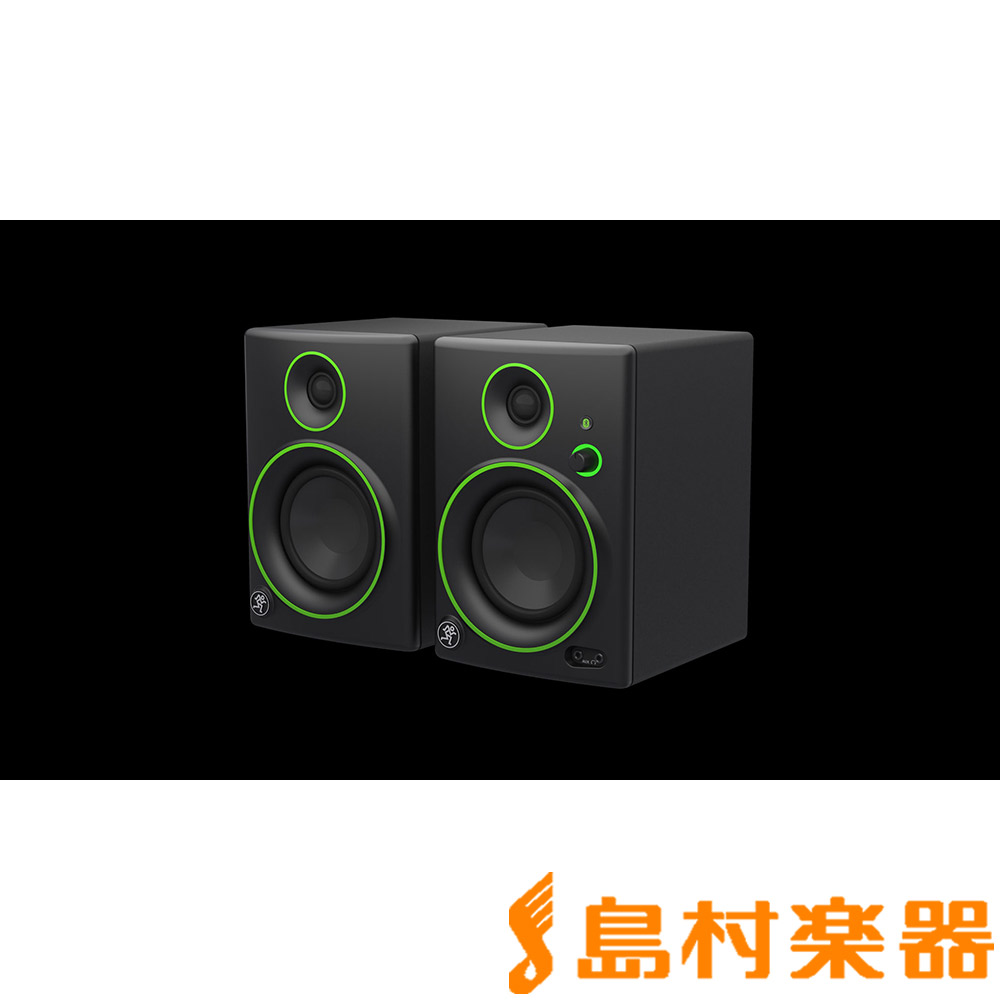 MACKIE CR4BT モニタースピーカー Bluetooth対応 ワイヤレススピーカー 4インチ2way 【マッキー】
