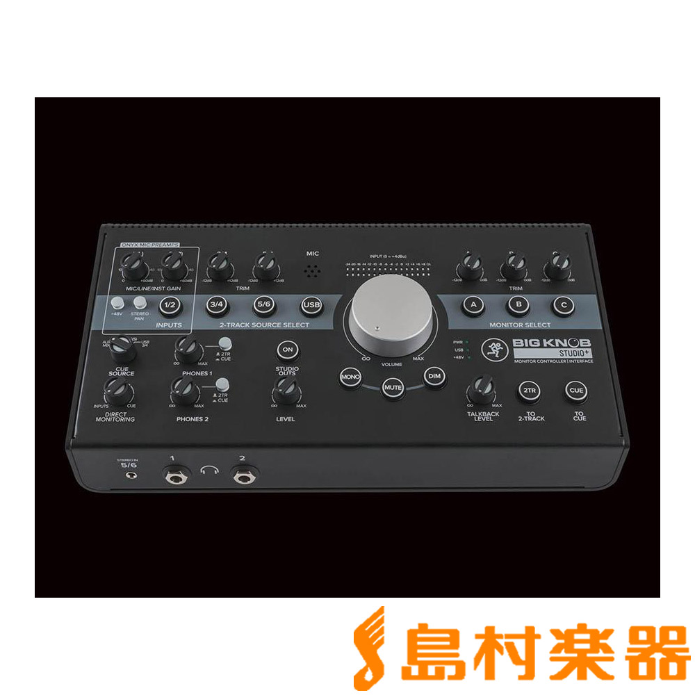 MACKIE Big Knob Studio+ セレクタ/インターフェース 【マッキー】