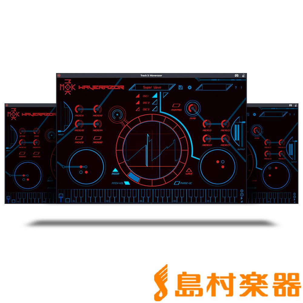 Tracktion Tracktion MOK MOK Waverazor プラグインソフト【トラクション Waverazor】, 小松島大丸:98ea0c08 --- sunward.msk.ru