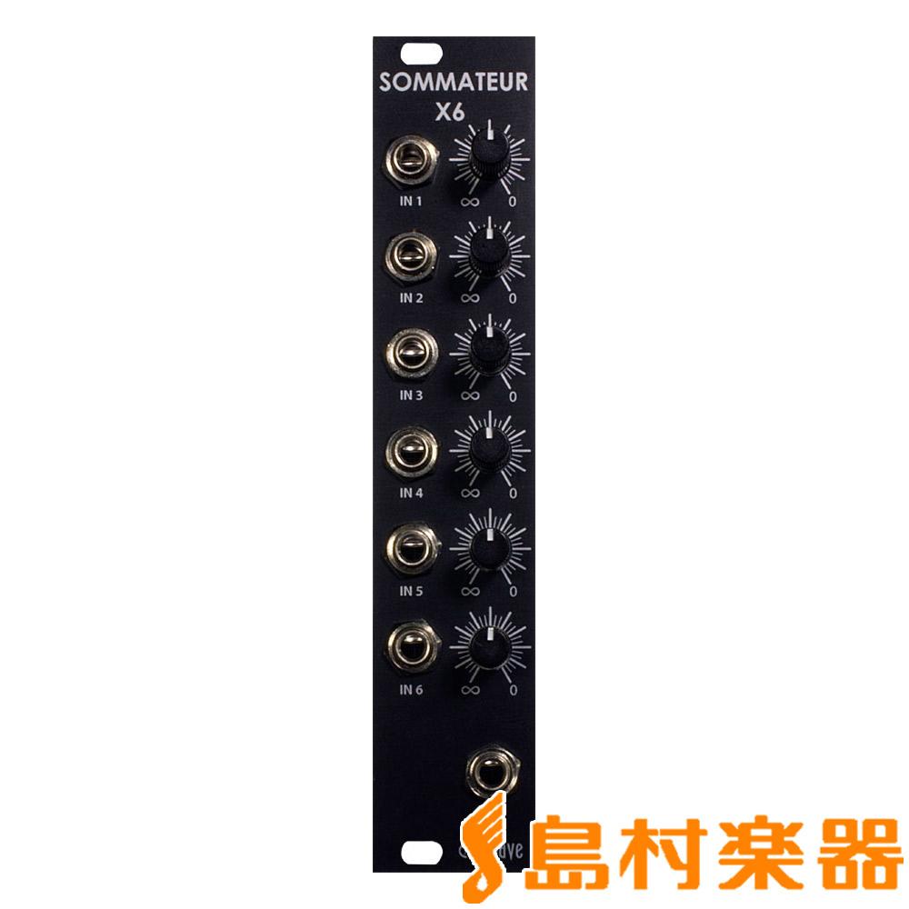 eowave EO-115 Sommateur X6 モジュラーシンセサイザー/Sommateux X6 【イーオーウェーブ】