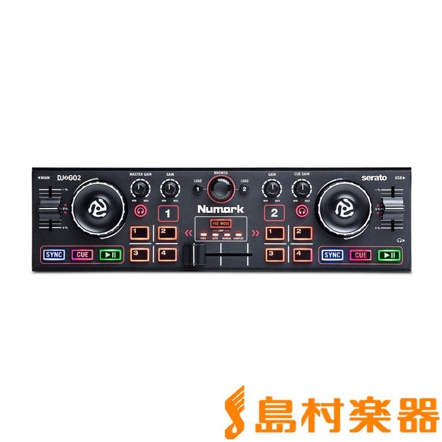 Numark オーディオインターフェイス内蔵 DJコントローラー 【ヌマーク】 [ポケットサイズ] DJ2GO2