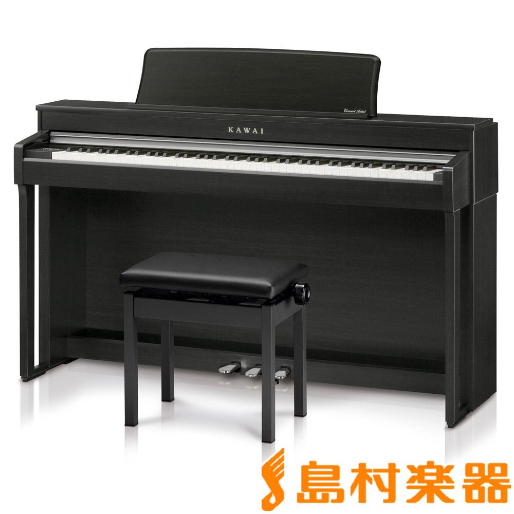 KAWAI CN370GP MB モダンブラック 電子ピアノ 88鍵盤 【カワイ】【配送設置無料・代引き払い不可】【島村楽器限定】【別売り延長保証対応プラン:D】