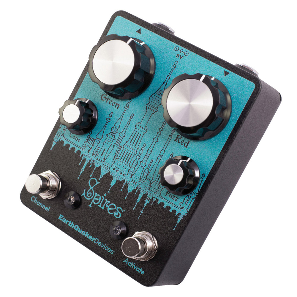 EarthQuaker Devices Spires Nu Face Double Fuzz ファズ エフェクター 【アースクエイカーデバイス】【梅田ロフト店】