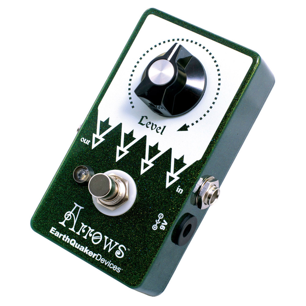 EarthQuaker Devices Arrows Preamp Booster プリアンプ ブースター エフェクター 【アースクエイカーデバイス】【梅田ロフト店】