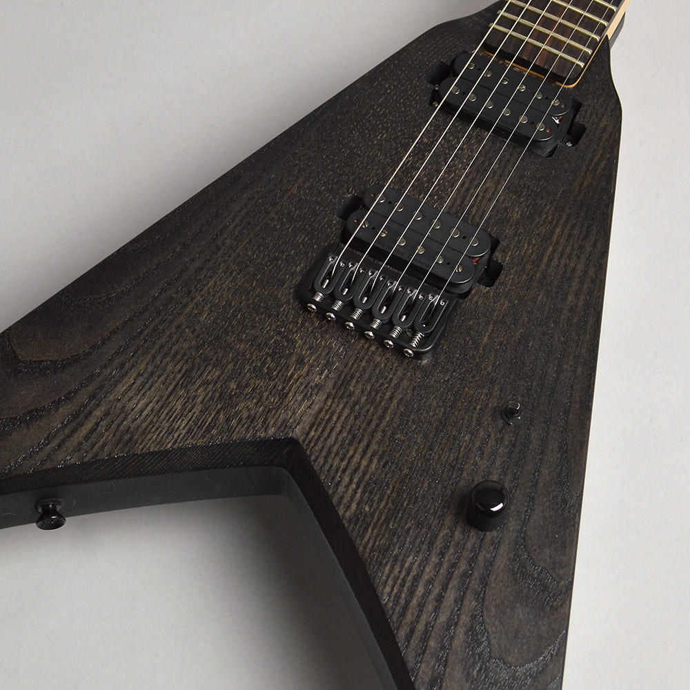 Strictly 7 Guitars ViperV Standard 6 HT/B BlackStain エレキギター Vシェイプ 【ストリクトリー7ギターズ】【梅田ロフト店】