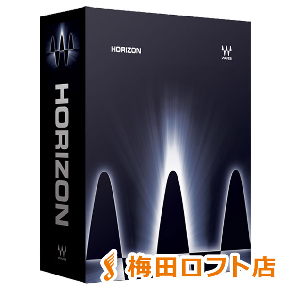 WAVES Horizon バンドル プラグインソフト 【ウェーブス】【梅田ロフト店】【国内正規品】【ダウンロード版】