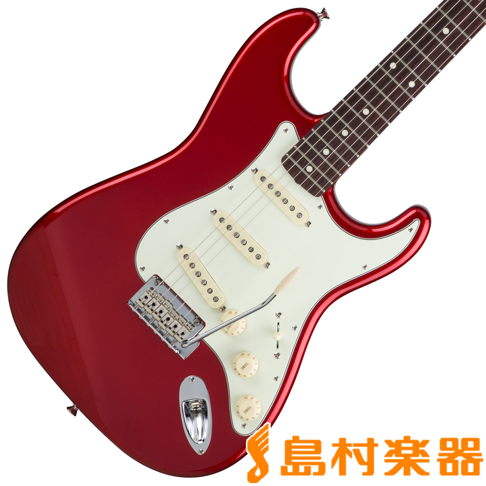 Fender Hybrid 60s Stratocaster Rosewood Candy Apple Red 【フェンダー】