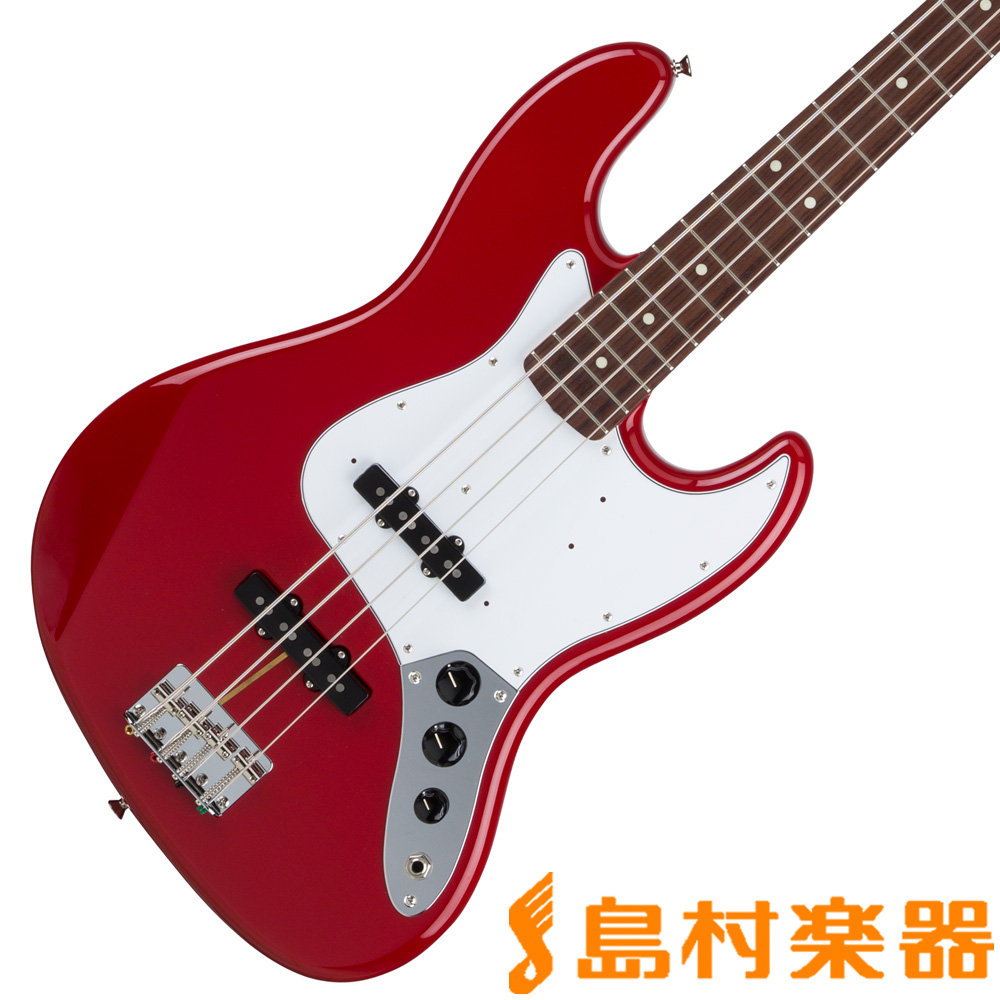 【クレジット無金利 10/31まで♪】Fender Hybrid 60s Jazz Bass Rosewood Torino Red 【フェンダー】