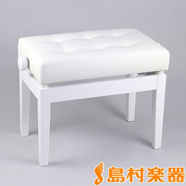 EMUL PBENCH100W ピアノ高低自在椅子 ホワイト 【エミュール PBENCH-100W】【島村楽器限定】