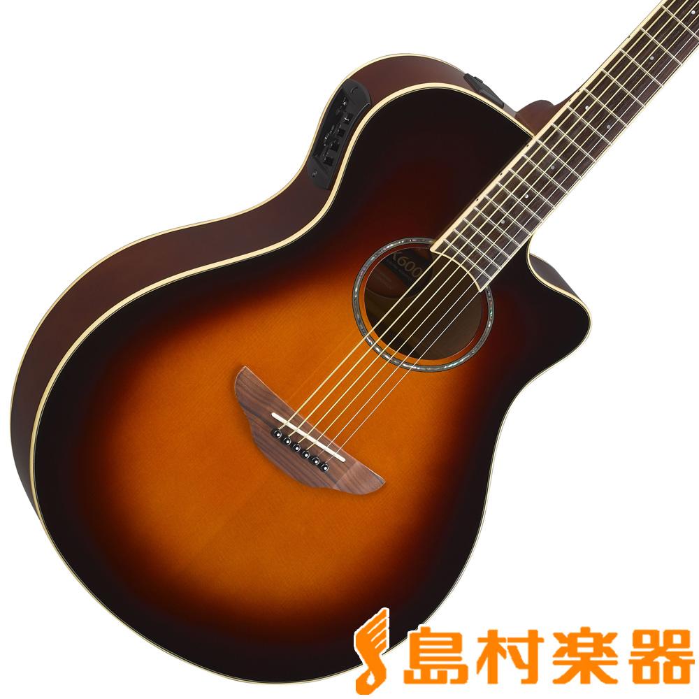 YAMAHA APX600 オールドバイオリンサンバースト エレアコギター 【ヤマハ】
