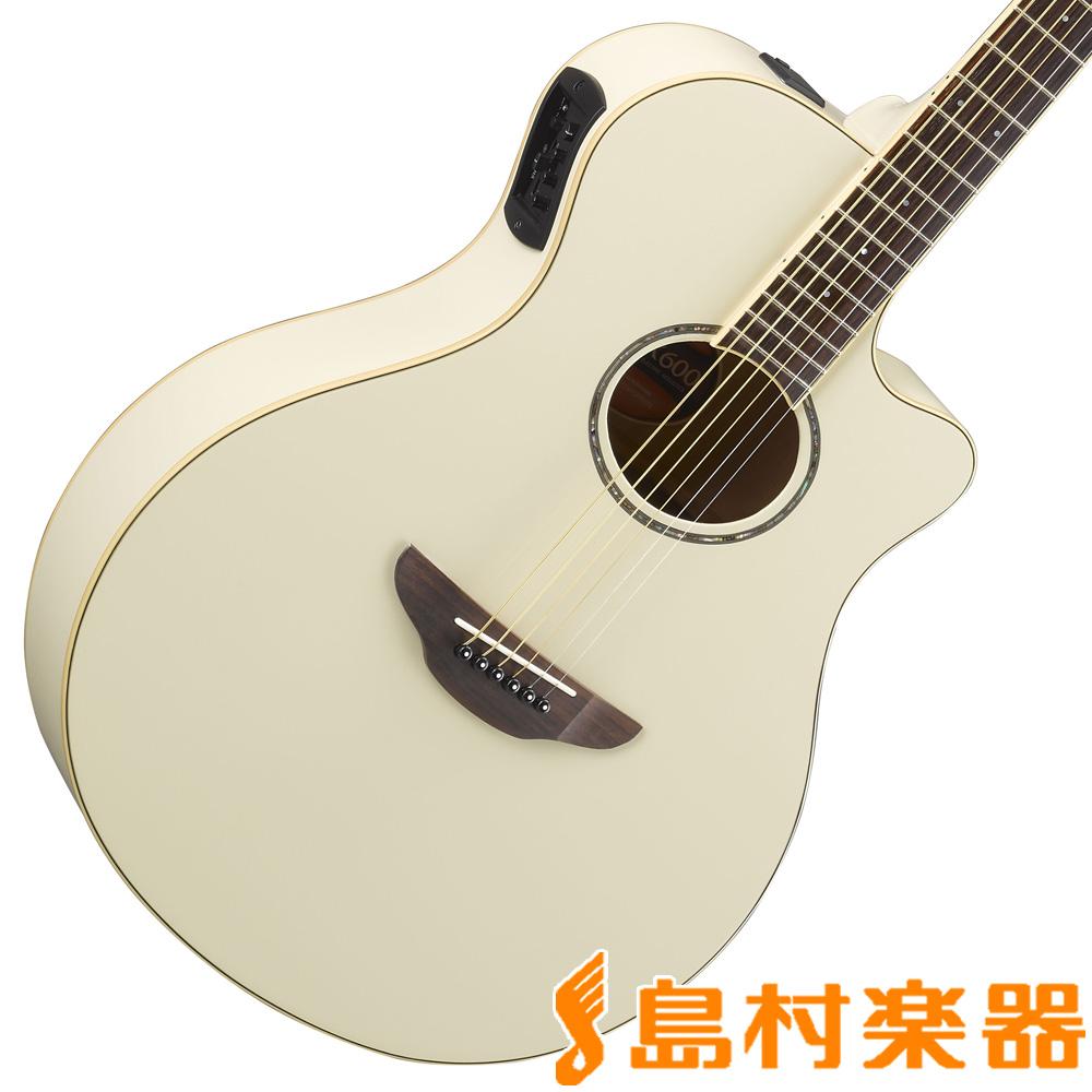 YAMAHA APX600 ビンテージホワイト エレアコギター 【ヤマハ】