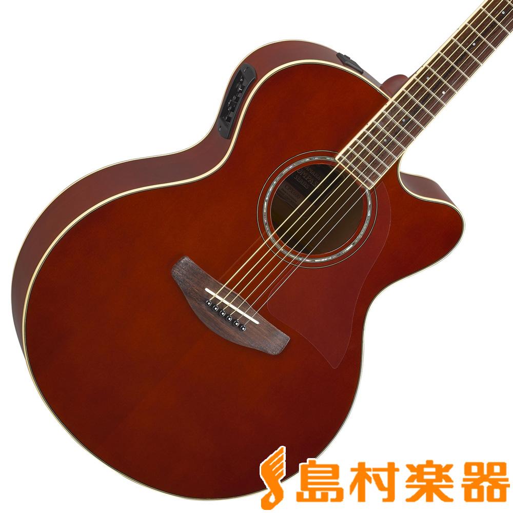 YAMAHA CPX600 ルートビア エレアコギター 【ヤマハ】