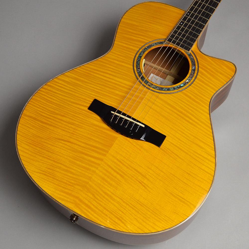 MORRIS SC-CUSTOM YEL アコースティックギター エレアコギター 【モーリス】【梅田ロフト店】【限定モデル】